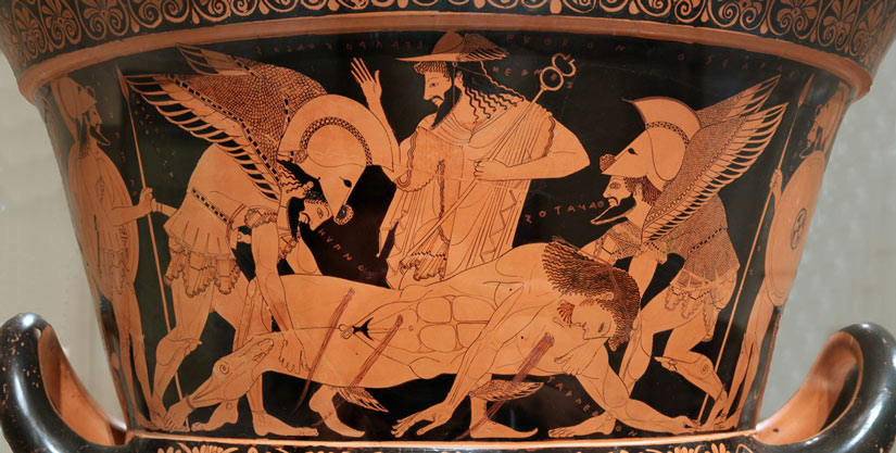 Греческий бог Танатос
