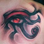 Египетская тату глаз