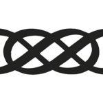 Эскиз тату бесконечности две восьмерки