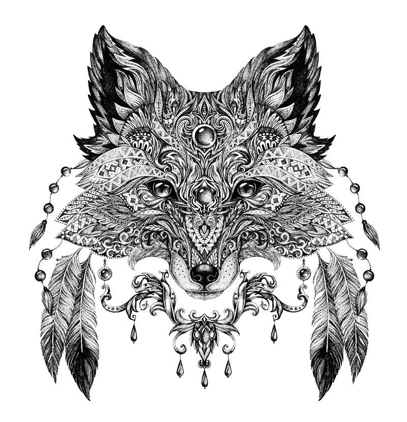 Картинки антистресс лисы