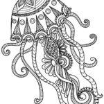 черно белый тату эскиз медузы