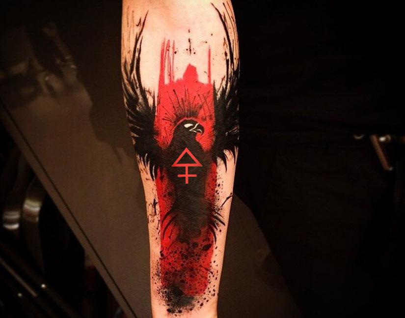Феникс и знак серы