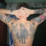 Татуировка три богатыря
