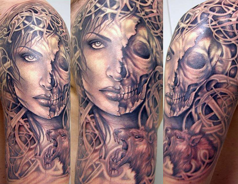 Татуировка богини Хель