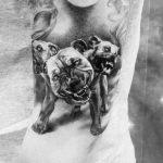 Татуировка с цербером