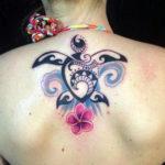 Татуировка с узором