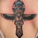 Эскиз Египетской тату жук скарабей