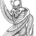 Эскизы Египетских татуировок