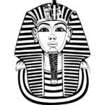 Эскиз Египетской татуировки фараон