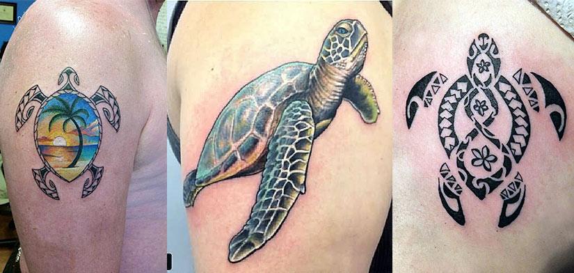 Тату черепаха