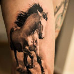 тату лошадь