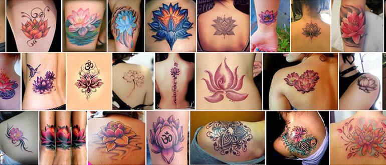 Татуировки с лотосом