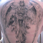 Тату ангел смерти