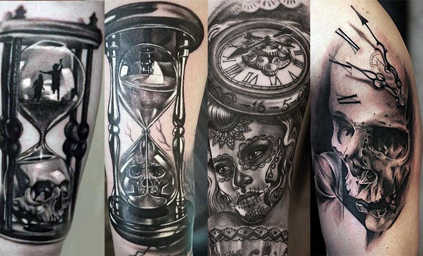 рисунок между жизнью и смертью в тату
