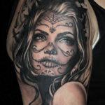 Женские татуировки смерти