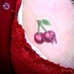 Тату вишни