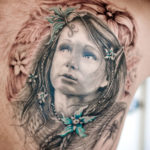 Татуировка эльфа