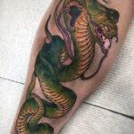 Татуировка кобры на норе