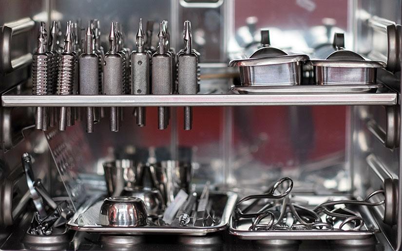 Обработка и стерилизация инструментов
