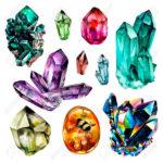 Различные варианты кристаллов
