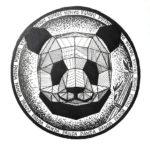 Эскиз тату панды дотворк