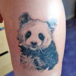 Тату большой панды