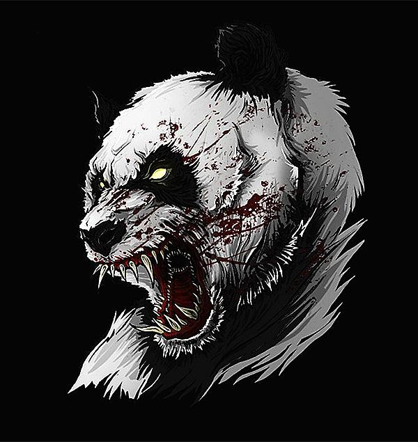 Злая панда