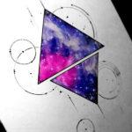 Эскиз вселенной в треугольнике