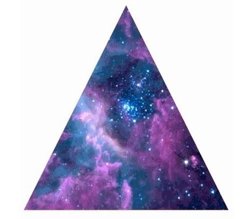 Космос в треугольнике
