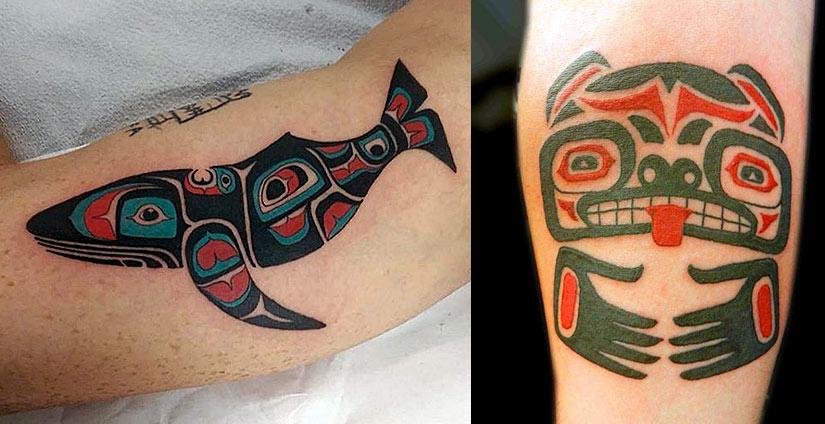 Тату индейских племен