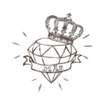 Бриллиант и корона