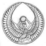 Эскиз в египетском стиле