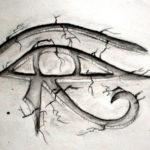 Глаз в египетском стиле