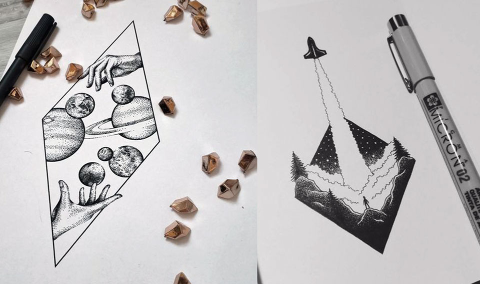 Эскизы татуировок на предплечье