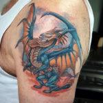 Дракон с крыльями