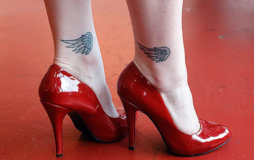 Крылья на ногах