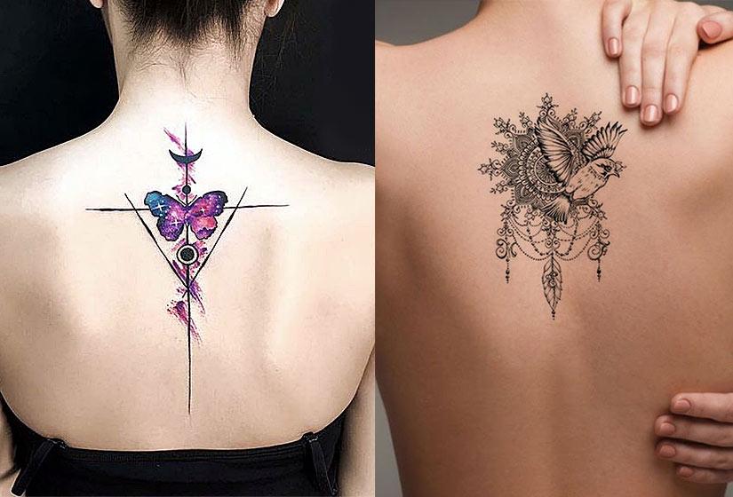 Татуировка которая украсит ваш позвоночник на протяжении всей жизни