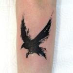 Летящий ворон