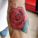 Реалистичная роза