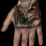 Татуировка совы