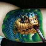 3D змея