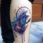 Абстрактная ворона