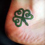 Лист клевера, кельтский стиль