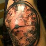 Часы с стрелкой