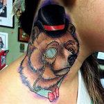 Татуировка медведя