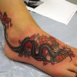 Татуировка японского дракона