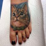 Портрет кошки, реализм