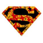 Знак супермен, хохлома