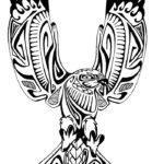 Эскиз тату орел