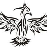 Эскиз жар-птицы